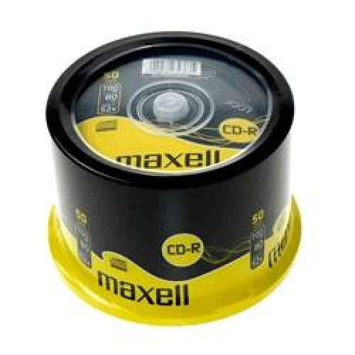 MAXELL CD-R 80 50 LİK CAKEBOX CD 50li PAKET